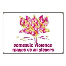 Domestic Violence Sisters Banner