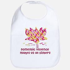 Domestic Violence Sisters Bib