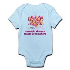 Domestic Violence Sisters Infant Bodysuit