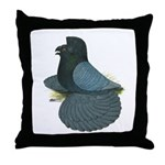 English Trumpeter Andalusian Throw Pillow