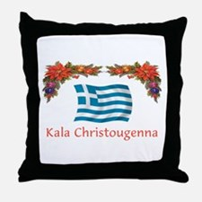 Greek Kala...2 Throw Pillow