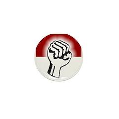 Fist of Defiant Resistance Mini Button