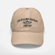 USS BENJAMIN FRANKLIN Baseball Baseball Cap