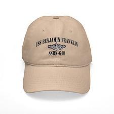 USS BENJAMIN FRANKLIN Baseball Cap