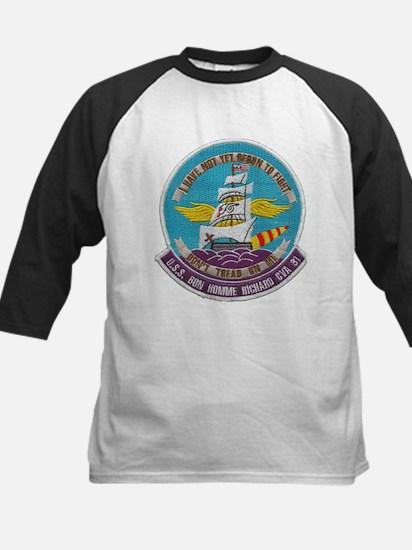 USS BON HOMME RICHARD Kids Baseball Jersey