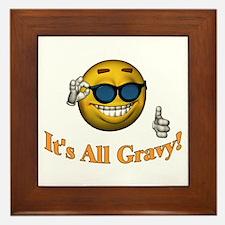 All Gravy Framed Tile