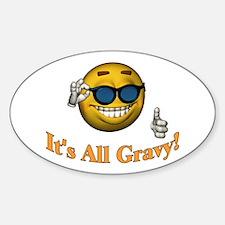 All Gravy Oval Sticker (10 pk)
