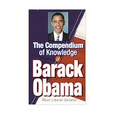 Barack Obama: Compendium of Knowledge Decal