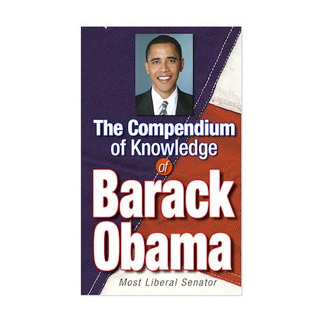 Barack Obama: Compendium of Knowledge Sticker (Rec