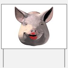Lipstick Pig Yard Sign