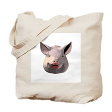 Lipstick Pig Tote Bag