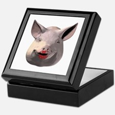 Lipstick Pig Keepsake Box