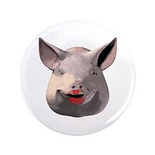 """Lipstick Pig 3.5"""" Button (100 pack)"""