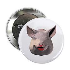 """Lipstick Pig 2.25"""" Button"""