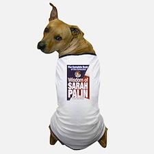 Collected Wisdom of Sarah Palin Dog T-Shirt