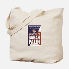 Collected Wisdom of Sarah Palin Tote Bag