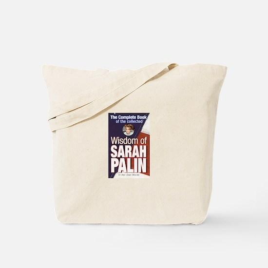 Collected Wisdom of Sarah Palin Tote Bag