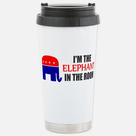 REPUBLICAN ELEPHANT SYMBOL GO Stainless Steel Trav