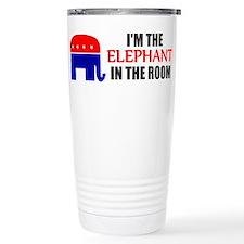 REPUBLICAN ELEPHANT SYMBOL GO Travel Mug