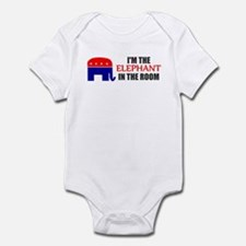 REPUBLICAN ELEPHANT SYMBOL GO Infant Bodysuit