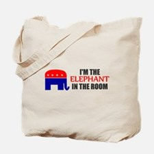 REPUBLICAN ELEPHANT SYMBOL GO Tote Bag