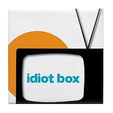 Idiot Box II Tile Coaster