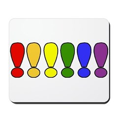 ex mark colors Mousepad