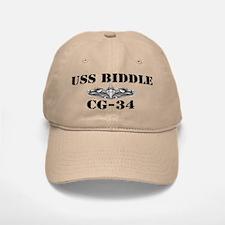 USS BIDDLE Baseball Baseball Cap