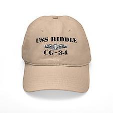 USS BIDDLE Baseball Cap
