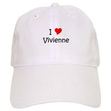 Cute I heart vivienne Baseball Cap