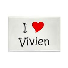 Cool Vivien Rectangle Magnet