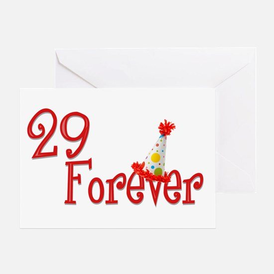 29 Forever Greeting Card