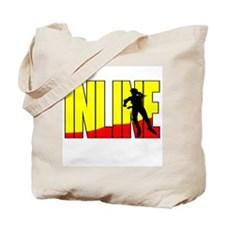 Inline Skating Tote Bag