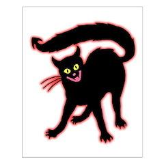 Devil Cat Posters