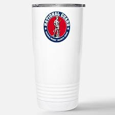National Guard Logo Travel Mug