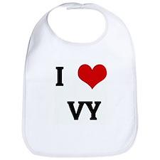 I Love VY Bib