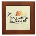 Satellite Beach Framed Tile