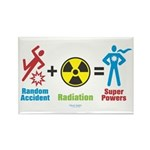 Super Powers Rectangle Magnet