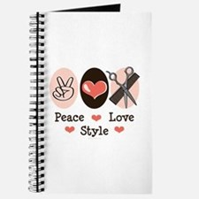 Peace Love Style Hairstylist Journal