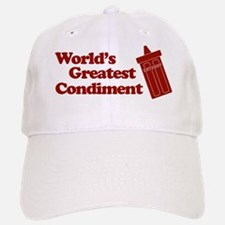 World's Greatest Condiment Baseball Baseball Cap