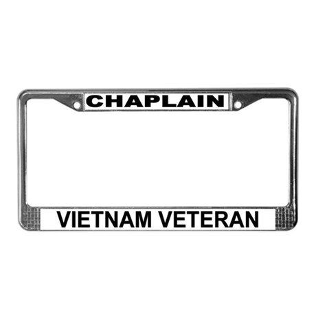 Vietnam Veteran License Plate Frame By Chappy Gibs