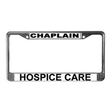 Hospice Care License Plate Frame
