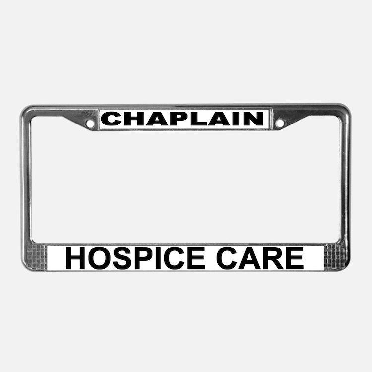Hospice Care License Plate Frame