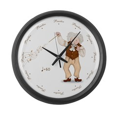 Practice Roud the Clock Ludwig Large Wall Clock