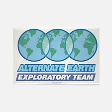 Alternate Earth Rectangle Magnet