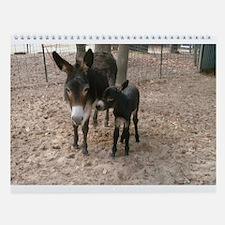 Donkeys 101 Wall Calendar