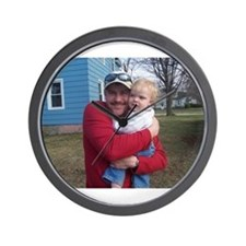The Daddy and Stevie Wall Clock