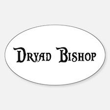 Dryad Bishop Oval Decal