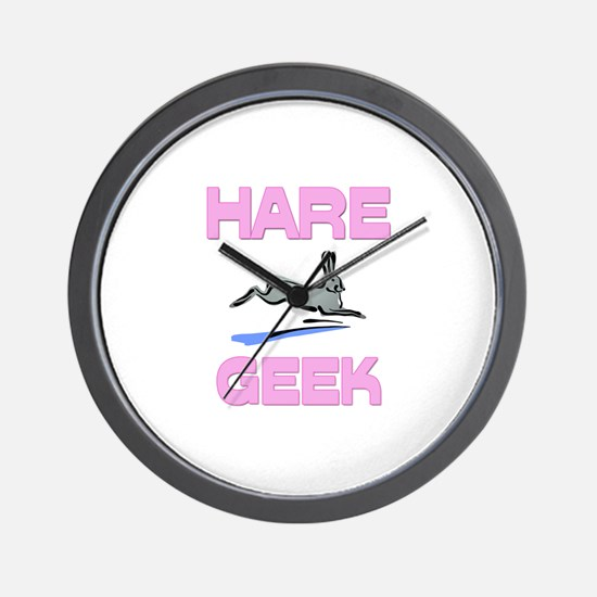 Hare Geek Wall Clock