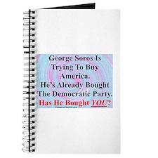 """""""George Soros Is Buying"""" Journal"""